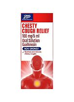Boots Chesty Cough Relief 100mg/5ml Oral Solution - 240ml