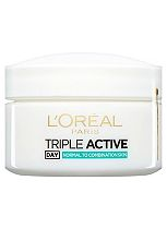 L'Oréal Paris Triple Active Day Multi-Protection Moisturiser Normal to Combination Skin 50ml