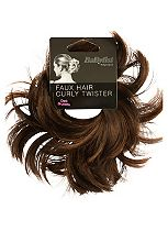 BaByliss® Faux Hair Twisted Bun Ring - Dark Brunette