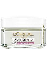 L'Oréal Paris Triple Active Day Multi Protection Moisturiser Dry and Sensitive Skin 50ml