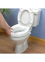 Homecraft Savanah Raised Toilet Seat without Lid - 10cm