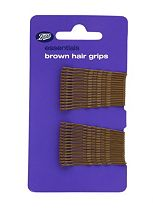 Boots Essentials Brown Hair Grips