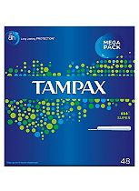 Tampax Super 48 Applicator Tampons