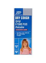 Boots Dry Cough Syrup 6 Years + - 100ml