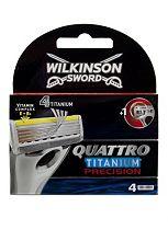 Wilkinson Sword QuattroTitanium Precision blades 4s