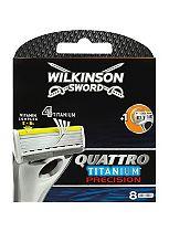 Wilkinson Sword Quattro Titanium Precision blades 8s