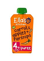 Ella's Kitchen Carrots, Apples + Parsnips Stage 1 From 4 Months 120g