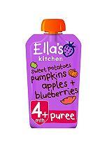 Ella's Kitchen Sweet Potatoes, Pumpkin, Apples + Blueberries Stage 1 from 4 Months 120g