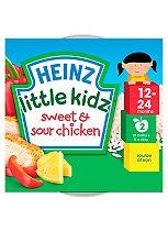 Heinz 12-24 Months Little Kidz Sweet & Sour Chicken 230g
