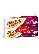 Dextro Energy Blackcurrant + Vitamin C Dextrose Tablets 2 x 47g