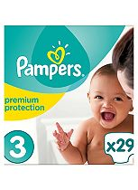 Pampers New Baby Nappies Size 3 -  1 x 29 Nappies