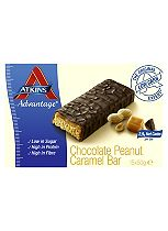 Atkins Advantage Chocolate Peanut Caramel - 16 x  60g bars