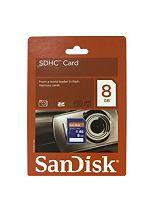 SanDisk 8GB SDHC Memory Card