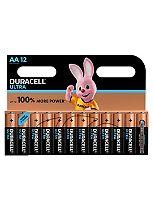 Duracell Ultra Power AA Alkaline batteries 12x Pack