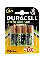 Duracell Active Recharge Batteries AA- x4