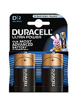 Duracell Ultra D Batteries Pack of 2