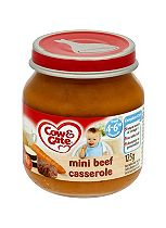 Cow & Gate Mini Beef Casserole from 4-6m Onwards 125g