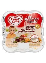 Cow & Gate Little Steamed Meals Country Vegetables & Beef Casserole 10m Onwards 230g