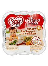 Cow & Gate Little Steamed Meals Sunday Lunch with Carrot, Parsnip & Chicken 10m Onwards 230g