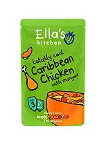 Ella's Kitchen Totally Cool Caribbean Chicken with Mangoes Stage 3 from 10 Months 190g