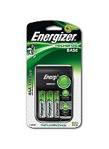 Energizer Value Charger & 4 AA Rechargeable Batteries
