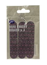 Boots Mini Emery Boards 3 pack
