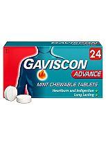 Gaviscon Advance Tablets - 24 Tablets