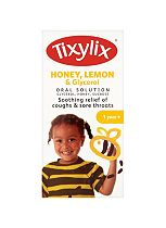Tixylix Honey, Lemon & Glycerol Oral Solution - 100ml