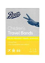 Boots Pharmaceuticals Children's Travel Bands- 1 Pair (2-12 Years)