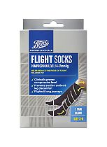 Boots Pharmaceuticals Flight Socks (14-17mmHg) Size 3-6- 1 Pair