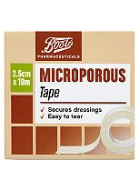 Boots Pharmaceuticals Microporous Surgical Tape 2.5cm x 10m