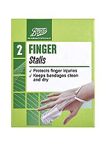 Boots Pharmaceuticals Finger Stalls- One Size (Pack of 2)