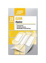 Boots Pharmaceuticals Clear Plaster- Pack of 20 Assorted