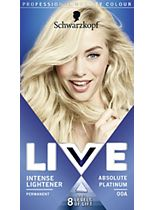 Schwarzkopf LIVE Intense Lightener 00A Absolute Platinum Hair Dye