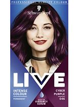 Schwarzkopf LIVE Intense Colour 046 Cyber Purple Hair Dye