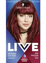 Schwarzkopf LIVE Intense Colour 043 Red Passion Hair Dye