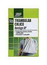 Boots Pharmaceuticals Triangular Calico Bandage BP (127cm x 98cm)