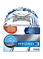 Wilkinson Sword Hydro 3 refill 4 pack