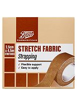 Boots Stretch Fabric Strapping (2.5cm x 4.5m)