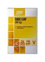 Boots Pharmaceuticals Sage Leaf 300mg (30 Capsules)