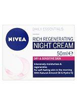 Nivea Visage Daily Essentials Rich Regenerating Night Cream 50ml