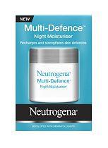 Neutrogena Multi-Defence® Night Moisturiser 50ml