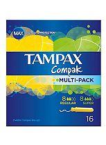 Tampax Compak Multipack 16 Tampons