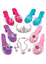 ELC Dress-up Shoes and Jewellery Set