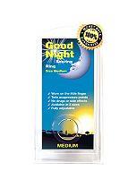 Good Night Snoring Ring -Medium