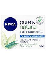 Nivea Visage Pure & Natural Moisturising Day Cream - Normal / Combination  50ml