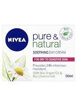 Nivea Visage Pure & Natural Soothing Day Cream Dry / Sensitive 50ml