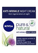 Nivea Visage Pure & Natural Effective Anti-Wrinkle Night Cream 50ml