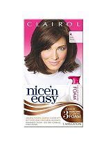 Nice 'n Easy Permanent Colour Blend Foam 4 Dark Brown