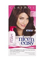 Nice 'n Easy Permanent Colour Blend Foam 4RB Dark Reddish Brown